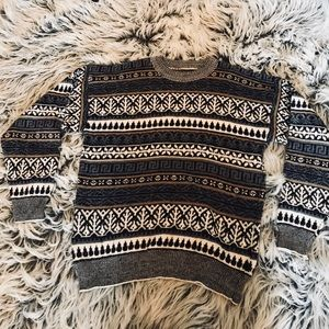 Sweaters - Patterned Sweater
